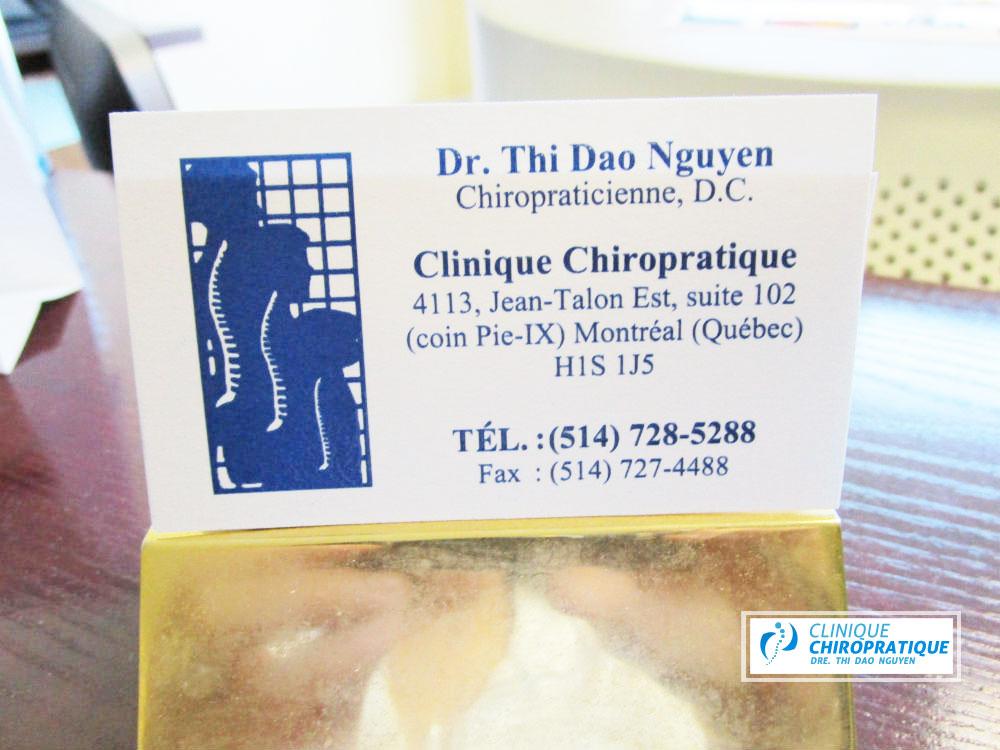 chiropraticien montréal équipement du médecin
