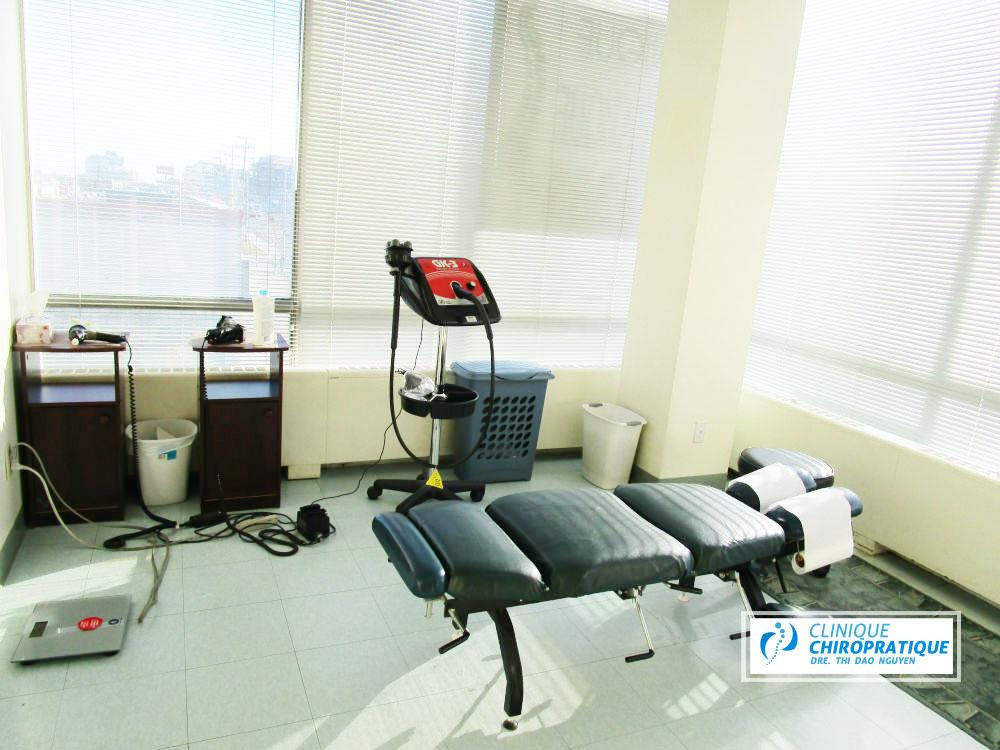 chiro montréal chaise et autres équipements